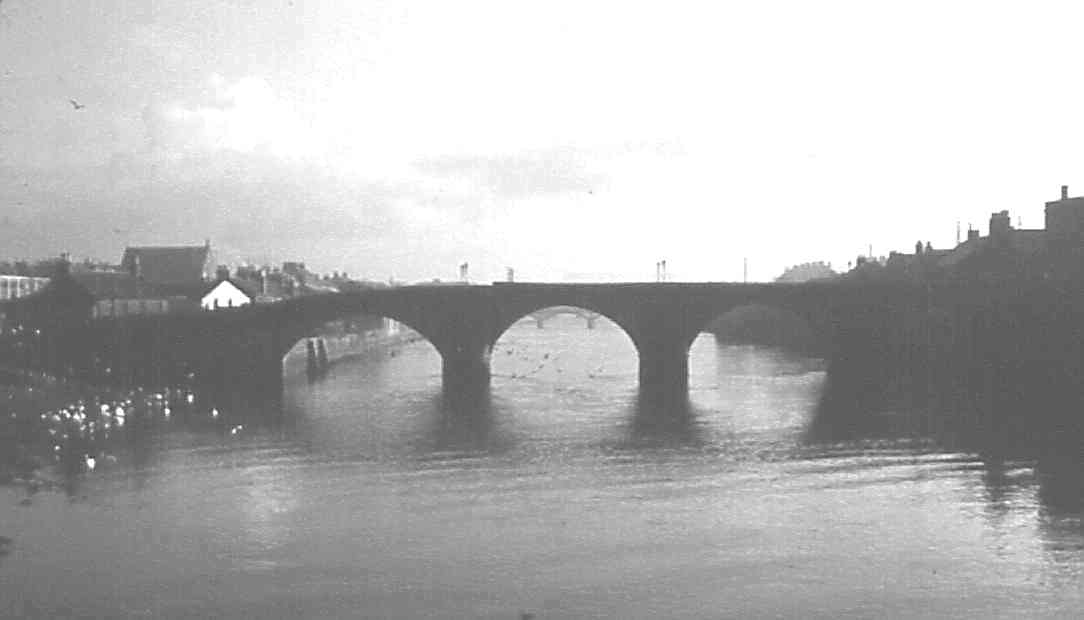 The Bridge of Ayr at Twilight